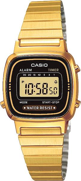 Наручные женские часы Casio LA-670WEGA-1E