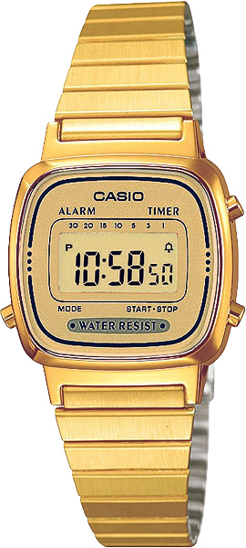 Наручные женские часы Casio LA-670WEGA-9E