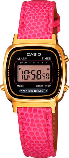 Наручные женские часы Casio LA-670WEGL-4A