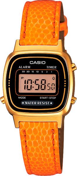 Наручные женские часы Casio LA-670WEGL-4A2