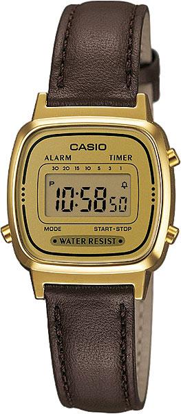 Наручные женские часы Casio LA-670WEGL-9E