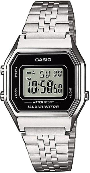 Наручные женские часы Casio LA-680WEA-1E