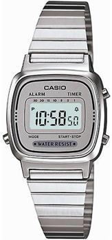 Наручные женские часы Casio LA670WEA-7E