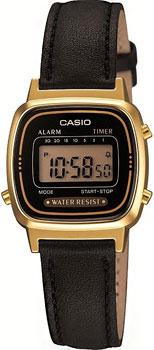 Наручные женские часы Casio LA670WEGL-1E
