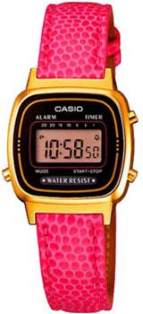 Наручные женские часы Casio LA670WEGL-4A