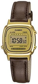 Наручные женские часы Casio LA670WEGL-9E