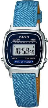Наручные женские часы Casio LA670WEL-2A2