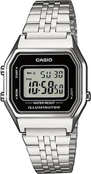 Наручные женские часы Casio LA680WEA-1E