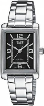 Наручные женские часы Casio LTP-1234PD-1A