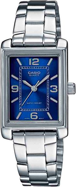 Наручные женские часы Casio LTP-1234PD-2A