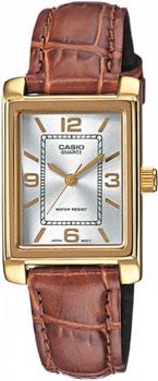Наручные женские часы Casio LTP-1234PGL-7A