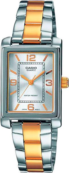 Наручные женские часы Casio LTP-1234PSG-7A