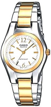Наручные женские часы Casio LTP-1280PSG-7A