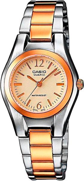 Наручные женские часы Casio LTP-1280PSG-9A