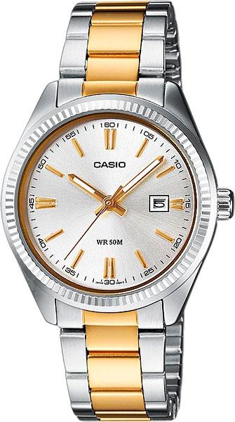 Наручные женские часы Casio LTP-1302PSG-7A