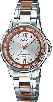 Наручные женские часы Casio LTP-1391RG-7A