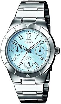 Наручные женские часы Casio LTP-2069D-2A2