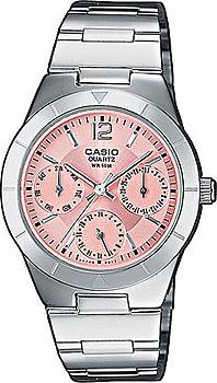 Наручные женские часы Casio LTP-2069D-4A