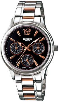 Наручные женские часы Casio LTP-2085RG-1A