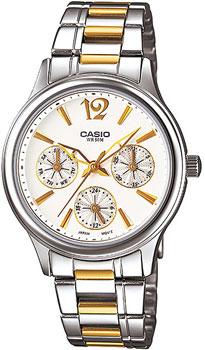 Наручные женские часы Casio LTP-2085SG-7A