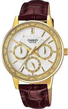 Наручные женские часы Casio LTP-2087GL-5A
