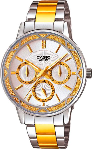 Наручные женские часы Casio LTP-2087SG-7A