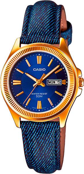 Наручные женские часы Casio LTP-E111GBL-2A