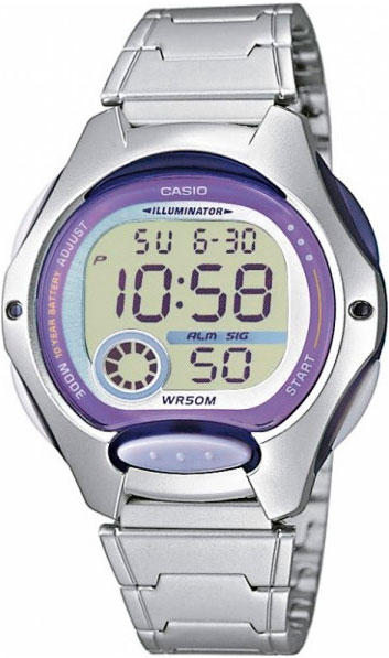 Наручные женские часы Casio LW-200D-6A