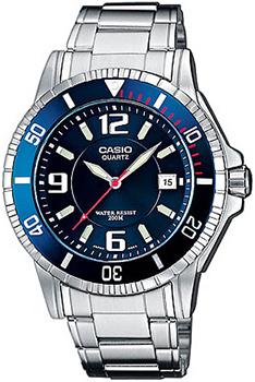Наручные мужские часы Casio MTD-1053D-2A