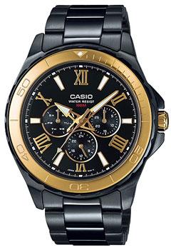 Наручные мужские часы Casio MTD-1075BK-1A9
