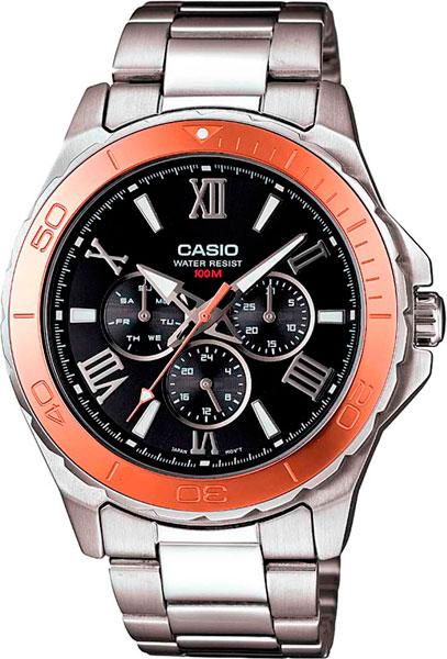 Наручные мужские часы Casio MTD-1075D-1A2
