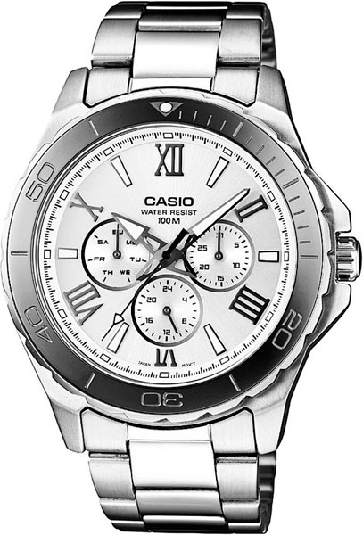 Наручные мужские часы Casio MTD-1075D-7A