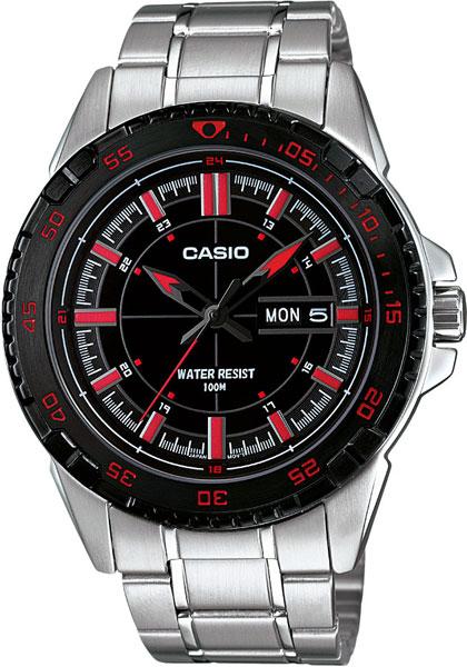 Наручные мужские часы Casio MTD-1078D-1A1