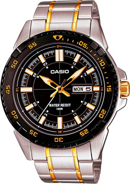 Наручные мужские часы Casio MTD-1078SG-1A
