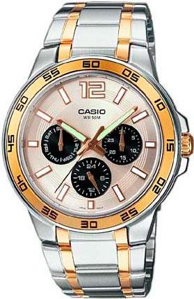 Наручные мужские часы Casio MTP-1300SG-7A