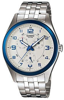 Наручные мужские часы Casio MTP-1352D-8B1
