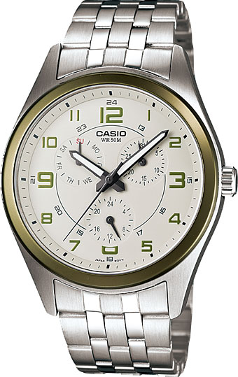 Наручные мужские часы Casio MTP-1352D-8B2