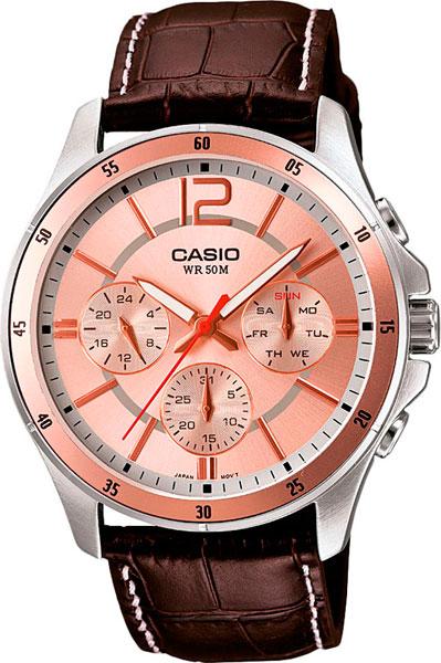 Наручные мужские часы Casio MTP-1374L-9A