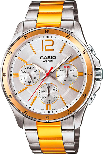 Наручные мужские часы Casio MTP-1374SG-7A