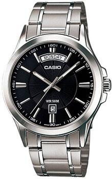 Наручные мужские часы Casio MTP-1381D-1A