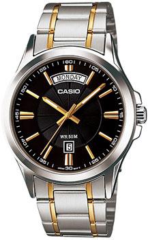 Наручные мужские часы Casio MTP-1381G-1A