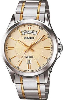 Наручные мужские часы Casio MTP-1381G-9A