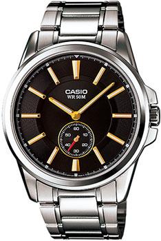 Наручные мужские часы Casio MTP-E101D-1A1