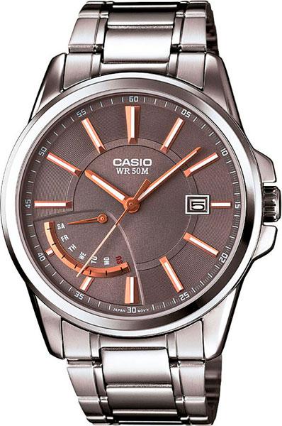 Наручные мужские часы Casio MTP-E102D-8A
