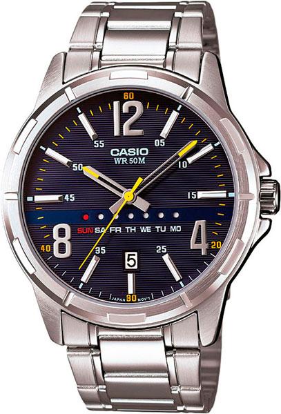 Наручные мужские часы Casio MTP-E106D-2A
