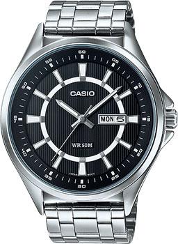 Наручные мужские часы Casio MTP-E108D-1A