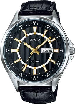 Наручные мужские часы Casio MTP-E108L-1A
