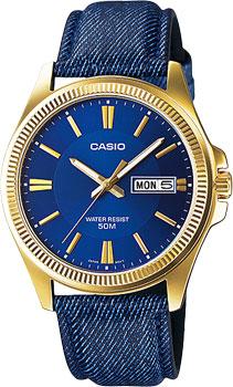 Наручные мужские часы Casio MTP-E111GBL-2A