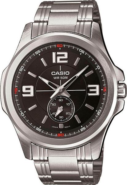 Наручные мужские часы Casio MTP-E112D-1A