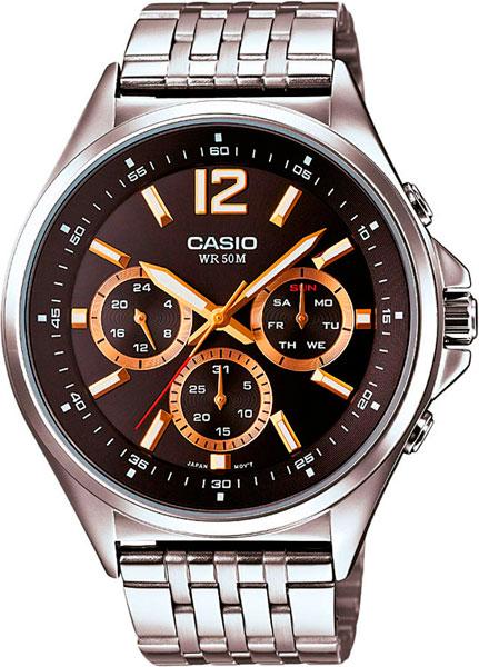 Наручные мужские часы Casio MTP-E303D-1A
